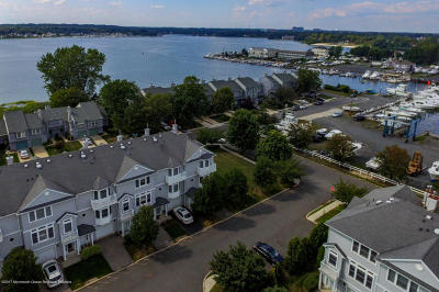 Neptune Township Condo/Townhouse Under Contract: 413 Captains Way