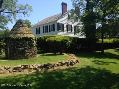 Holmdel Single Family Home For Sale