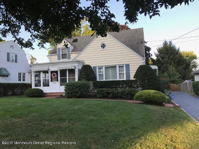 Freehold Single Family Home For Sale: 2 Morris Street