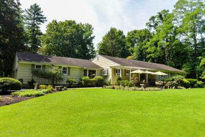 Little Silver Single Family Home For Sale: 70 Salem Lane