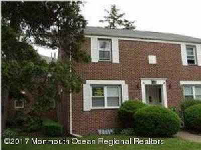 Long Branch Condo/Townhouse For Sale: 317 Bath Avenue #43