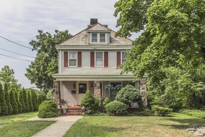 Long Branch Single Family Home For Sale: 659 McClellan Street