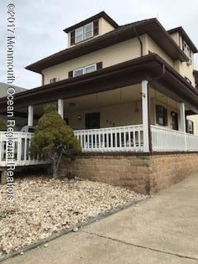 Bradley Beach Multi Family Home For Sale: 606 Beach Avenue