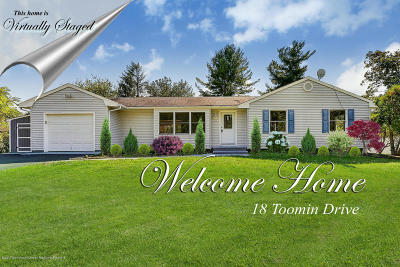 Neptune Township Single Family Home For Sale: 18 Toomin Drive