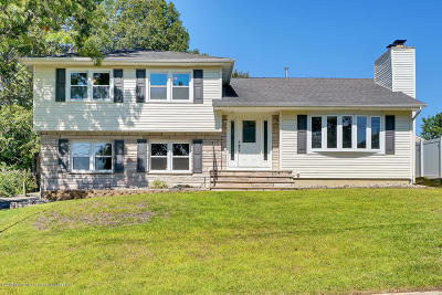 Point Pleasant Single Family Home For Sale: 541 Summit Drive