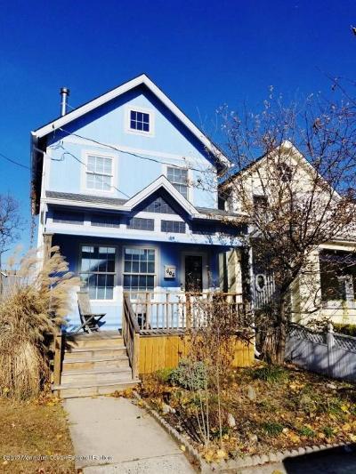 Bradley Beach Single Family Home For Sale: 606 Ocean Park Avenue