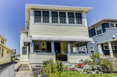 Bradley Beach Single Family Home Under Contract: 108 S 3rd Avenue
