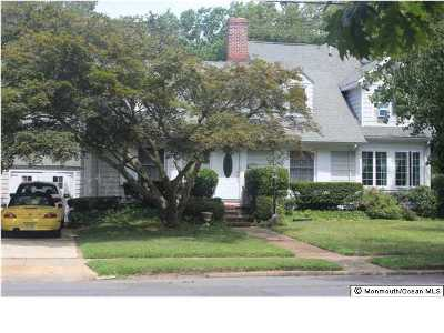 Spring Lake Single Family Home For Sale: 326 South Boulevard