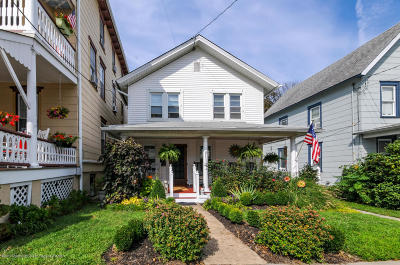 Ocean Grove Single Family Home Under Contract: 35 Bath Avenue