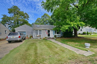 Point Pleasant Single Family Home For Sale: 2233 Edgar Road