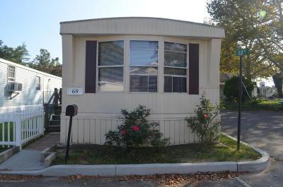 Hazlet Single Family Home For Sale: 69 Alex Court