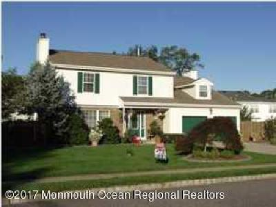 Howell Single Family Home For Sale: 1 Weasel Creek Court