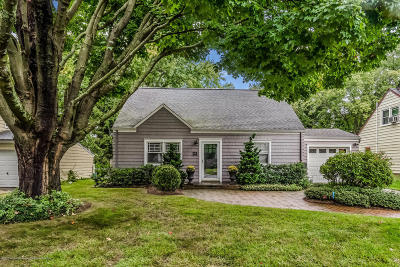 Monmouth County Single Family Home For Sale: 23 Borden Street