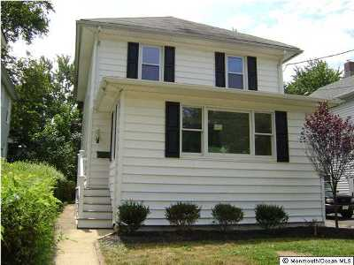 Red Bank Single Family Home For Sale: 32 Elm Place