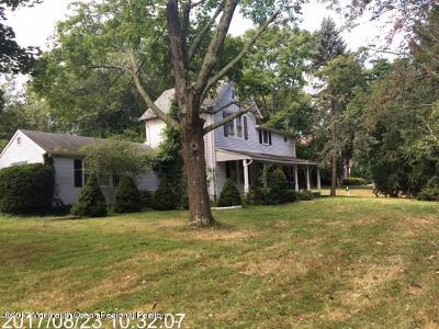 Wall Single Family Home For Sale: 1909 Tiltons Corner Road