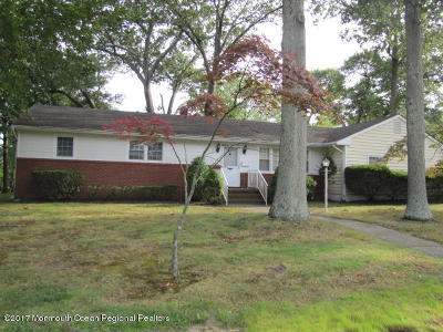 Monmouth County Single Family Home For Sale: 410 Wells Avenue