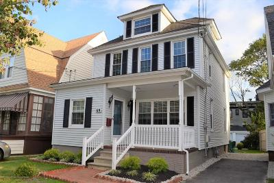 Red Bank Single Family Home Under Contract: 69 Oakland Street