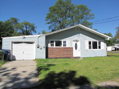 Neptune Township Single Family Home For Sale: 309 Hollywood Avenue