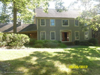 Brielle Single Family Home For Sale: 1 S Tamarack Drive