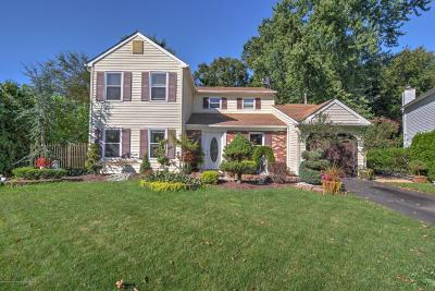 Freehold Single Family Home Under Contract: 7 Cutter