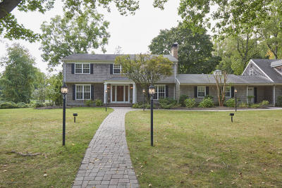 Rumson Single Family Home Under Contract: 14 Brookside Drive