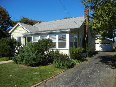 Point Pleasant Beach Single Family Home For Sale: 307 Carter Avenue