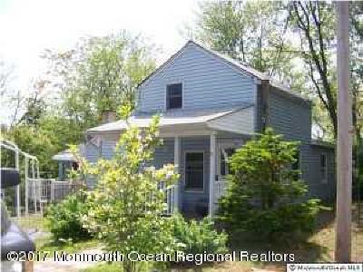 Hazlet Single Family Home For Sale: 13 Oak Street