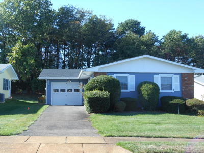 Brick Adult Community Under Contract: 28 Central Boulevard