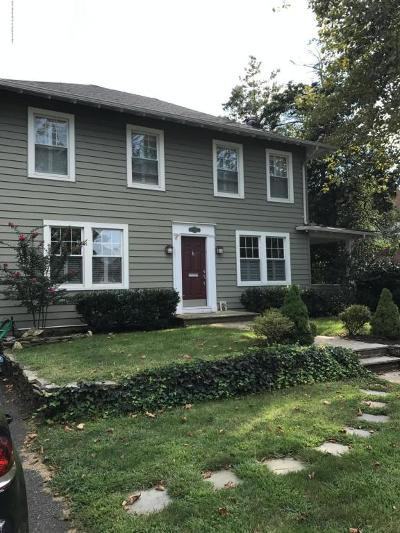 Red Bank Single Family Home Under Contract: 139 E Bergen Place