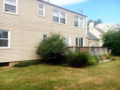 Long Branch Single Family Home For Sale: 767 Van Court Avenue