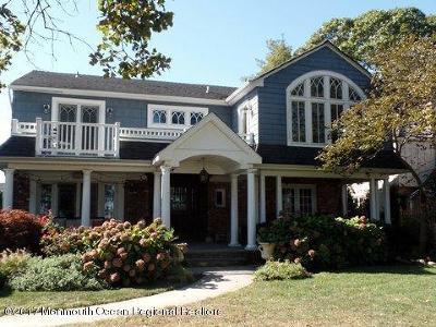Sea Girt Single Family Home For Sale: 312 The Terrace