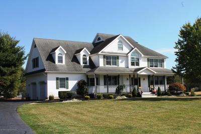 Monmouth County Farm For Sale: 135 Mercer Road