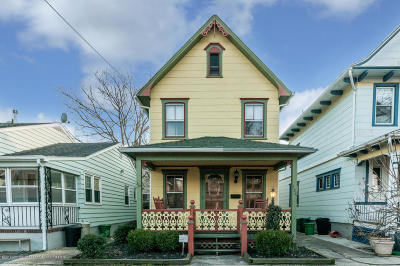Ocean Grove Single Family Home For Sale: 124 Main Avenue