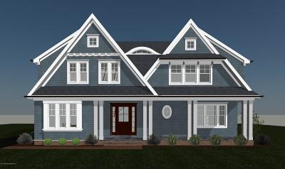 Sea Girt Single Family Home For Sale: 213 Neptune Place