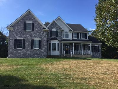 Freehold Single Family Home Under Contract: 22 Hanging Rock Road