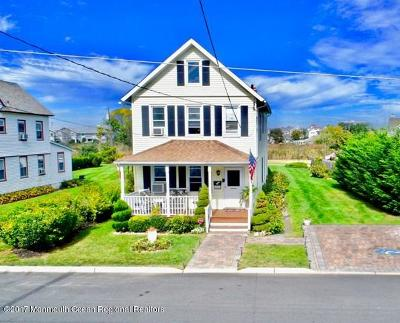 Long Branch Single Family Home For Sale: 77 Columbia Avenue