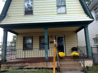 Bradley Beach Single Family Home For Sale: 313 Main Street