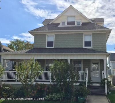 Bradley Beach Rental For Rent: 317 McCabe Avenue