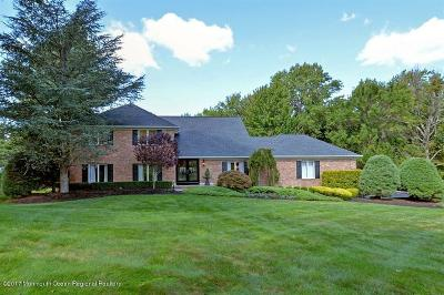 Holmdel Single Family Home For Sale: 6 Woods End Way