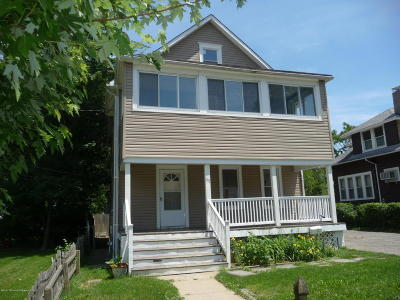 Long Branch Single Family Home For Sale: 95 N 5th Avenue