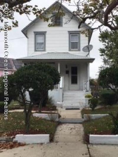 Asbury Park Single Family Home For Sale: 1315 1st Avenue