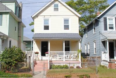 Bradley Beach Single Family Home For Sale: 514 Park Place Avenue