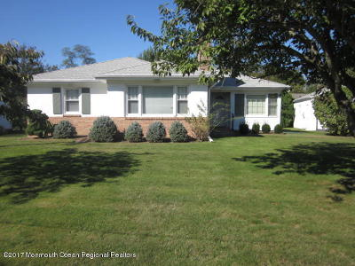 Neptune Township Single Family Home For Sale: 425 Tilton Place