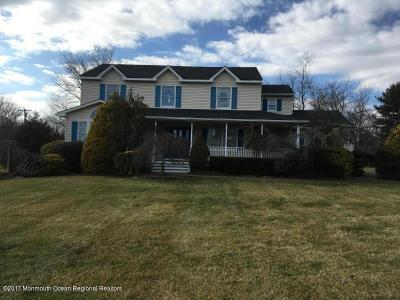 Freehold Single Family Home Under Contract: 326 Buckalew Road