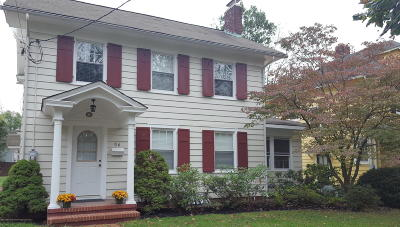 Freehold Single Family Home Under Contract: 56 Broadway