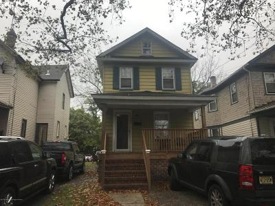 Asbury Park Single Family Home Under Contract: 1135 Asbury Avenue