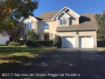 Eatontown Single Family Home Under Contract: 10 Old Queens Court