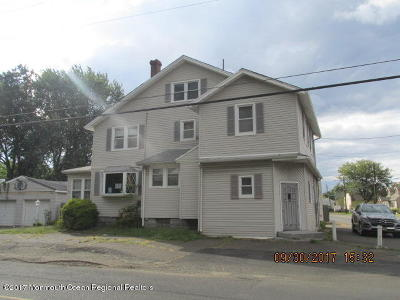 Hazlet Single Family Home For Sale: 124 Stone Road