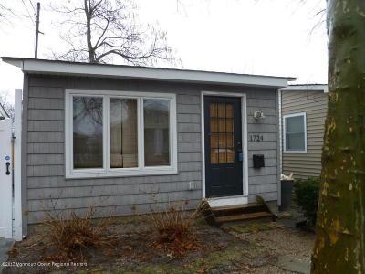 Belmar, Belmar Boro, Lake Como Single Family Home For Sale: 1724 Newman Street