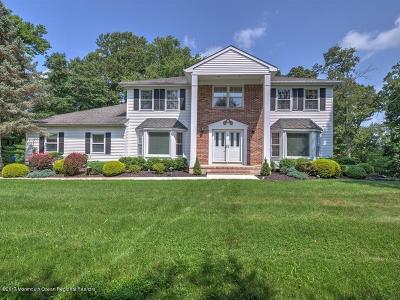 Freehold Single Family Home For Sale: 481 Burlington Road